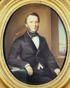 Portret van waarschijnlijk Pierre Jean Guillaume Martini (1807-1877)