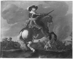 Ruiterportret van Frederik Hendrik