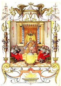 Rudolf II en zijn adviseurs