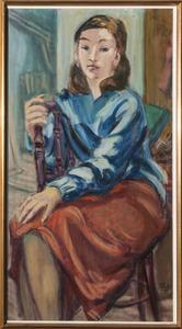 Potret Sabine Fiedler