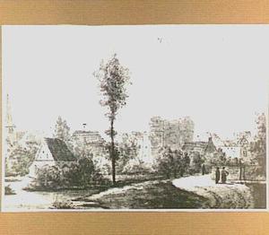 De stad Huissen in Over-Betuwe