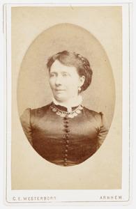 Portret van Anna Louise van Panhuys (1835-1922)