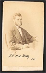 Portret van I.S. van den Berg