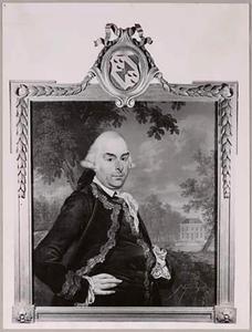 Portret van Jan Balthazar Strick van Linschoten (1734-1820)