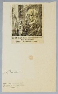 Portret van Jonkheer Mr. Carel Nicolaas Storm van 's Gravesande