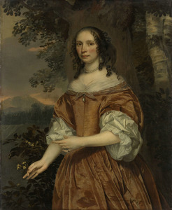 Portret van Maria de Witte Françoisdr (1616-?)