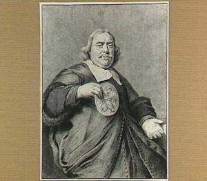 Portret van Gerrit Mulraet, Deken van het Lucasgilde te Haarlem