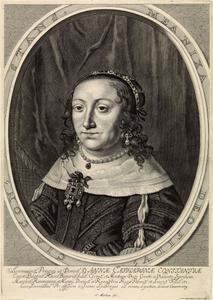 Portret van Anna Catharina Constance Wasa (1619-1651), later keurvorstin van de Palts