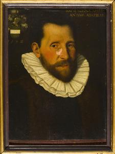 Portret van Allart Pietersz. Boelens (1560-1608)