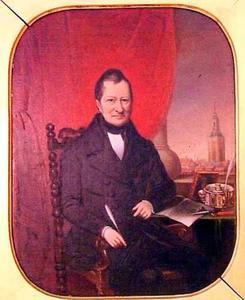 Portret van Bonifacius van der Haer (1779-1851)