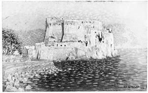 Moorse vesting aan het water