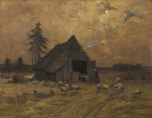 Op de Veluwe: de heide van Bennekom