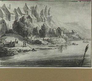 Altona, oever van de Elbe