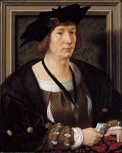 Portret van een man, mogelijk Hendrik III graaf van Nassau (1483-1538)
