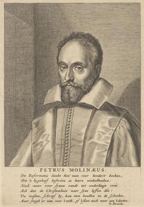 Portret van Petrus Molinaeus (1568-1658)