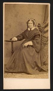 Portret van Sandrina Christina Enschede (1810-1882)