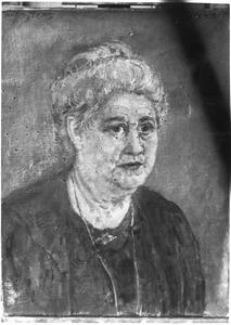 Portret van mevrouw Van Cooten (1846-....)