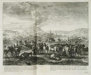 De belegering van Cuneo door de Fransen in 1691