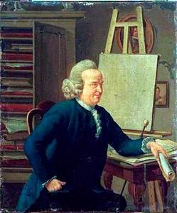 Portret van Vincent Jansz. van der Vinne (1736-1811)