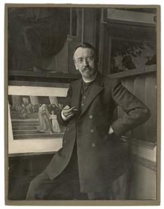 Portret van prof. dr. A. Derkinderen