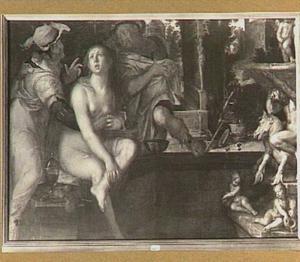 Suzanna belaagd door de ouderlingen (Daniël 13:1-63)