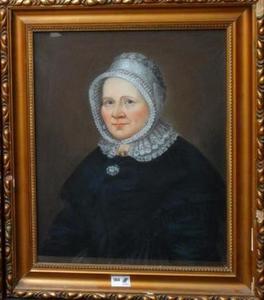 Portret van een vrouw, waarschijnlijk Anna Petronella Urbanus (1794/1795-1867)