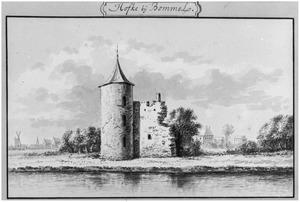 Ruïne van het Hof (ook wel Hoge Huis) bij Maasbommel