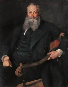 Portret van Freiherr Max von Perfall auf Greifenstein (1814-1877)
