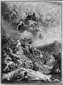 Het martyrium van de H. Ursula en haar tienduizend maagden te Keulen