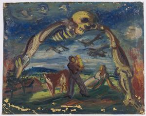 Landschap met de dood IV