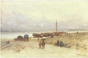 Strand te Scheveningen