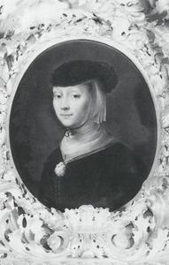 Portret van Maria Ovens, de vrouw van de kunstenaar