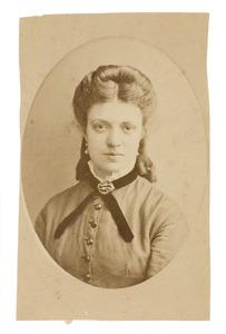 Portret van Gerardina Maria Donkersloot (1851-1884)