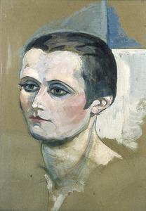 Portret van Nelly van Doesburg