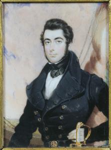 Portret van Willem Johan Cornelis ridder Huyssen van Kattendijke (1816-1866)