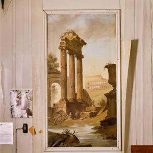 Capriccio met Romeinse ruïnes