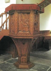 Pulpit decorations for the English church, Amsterdam