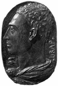 Zelfportret van Leon Battista Alberti