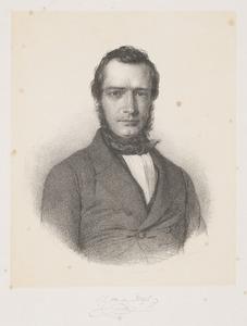 Portret van Samuel Johannes van den Bergh (1814-1868)