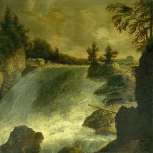 Waterval bij Trollhättan