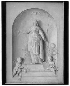 De personificatie van Ecclesia