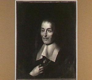 Portret van Guilielmus Stratenus (Willem van der Straten 1593-1681), hoogleraar Praktijk der Genees- en Ontleedkunde (1636-1646)