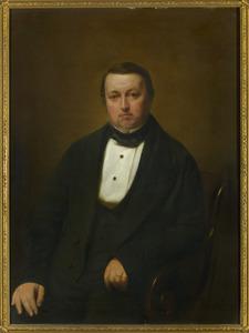 Portret van Adrianus Schieveen (1808-1854)