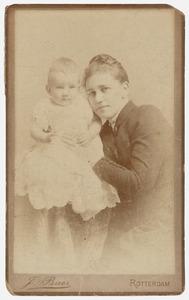 Portret van Arnoldina Johanna Wilkens en Herbertus Hendrikus van Dam