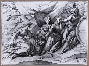Venus, Ceres en Bacchus (Sine Cerere et Libero friget Venus)