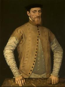 Portret van een man, mogelijk Sir John Gresham the elder (c. 1495-1556)