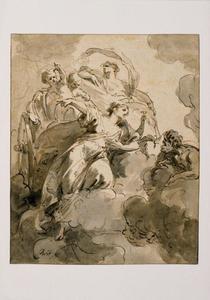 Juno beveelt Aeolus de winden los te laten