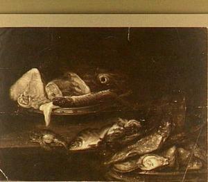 Visstilleven met oesters