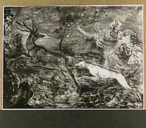 Diana op hertenjacht