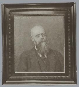 Portret van C.A. Verrijn Stuart